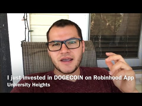How I Invest My Income – Recently invested in cryptocurrency DOGECOIN on Robinhood App
