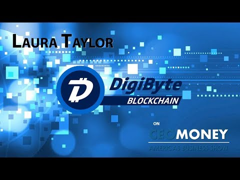 Why Digibyte outreach officer Laura Taylor loves the project – and you will too