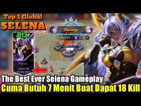 Killing Machine | Tak Ada Yang Bisa Menghindar Darinya – Top 1 Global Selena Rtz'