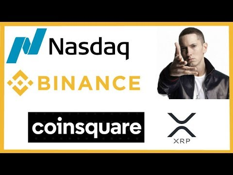 Nasdaq to List Cryptos in 2019 – Binance Profits – Eminem Song Bitcoin – Coinsquare Full XRP Support