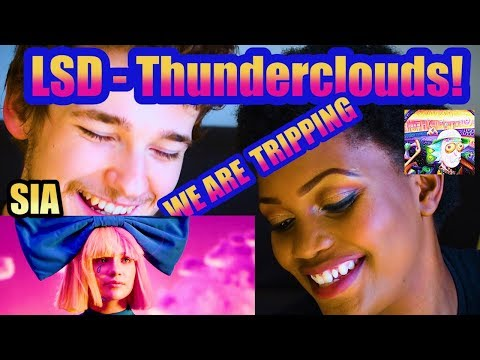LSD – Thunderclouds (Official Video) ft. Sia, Diplo, Labrinth   Reaction