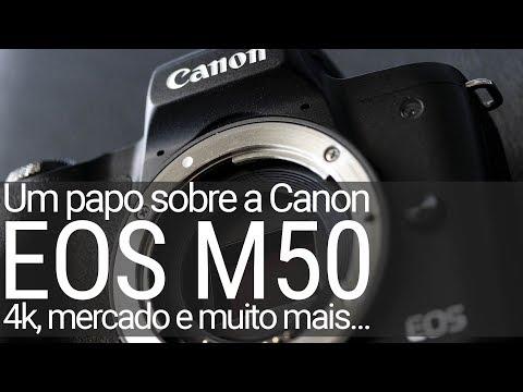 Um papo sobre as mirrorless Canon – destaque para EOS M50