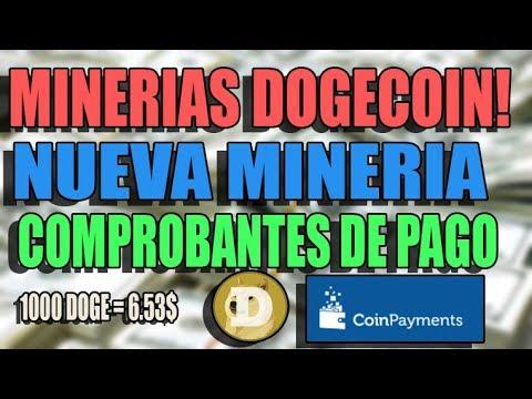 PAGO MINERIAS DOGECOIN NUEVA MINERIA! COMPROBANTES DE PAGO! DOGESPEED YA ES SCAM