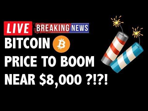 Will Bitcoin (BTC) Boom to Near 8000?! – Crypto Market Technical Analysis & Cryptocurrency News
