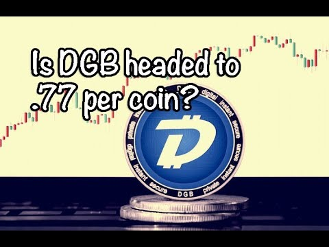 Is Digibyte / DGB headed to 77 cents per coin? Bitcoin / Altcoin News 8-31-18