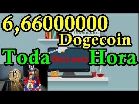 Btcleets Paga 6,66000000 Dogecoin Toda Hora Faucet 2018