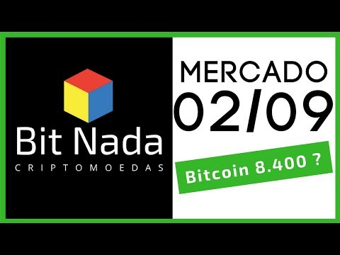 Mercado de Cripto! 02/09 Bitcoin 8.400 USD? / NEO / Eminem / Blockchain e corrupção