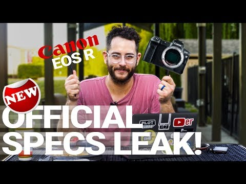 *NEW* Canon EOS R – OFFICIAL SPECS LEAK! WAFFLE RUMORS