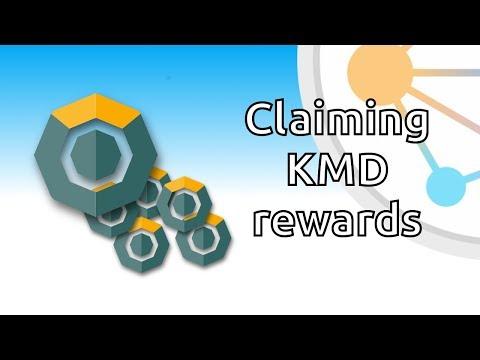 Claiming KMD rewards