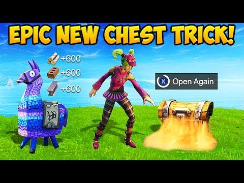 How To Open the SAME CHEST *TWICE* – Fortnite Funny Fails and WTF Moments! #308