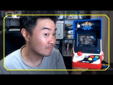 Unboxing Neo Geo Mini !