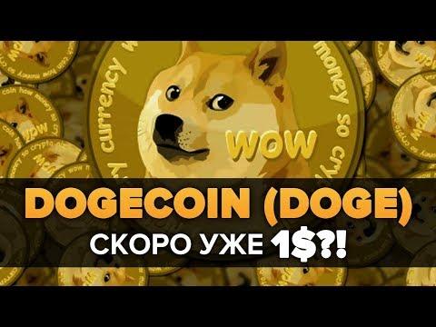 КРИПТОВАЛЮТА DOGECOIN (DOGE ДОГИКОИН) до 1 $ обзор и ПРОГНОЗ ЦЕНЫ ДАСТ Х100 – х200?!