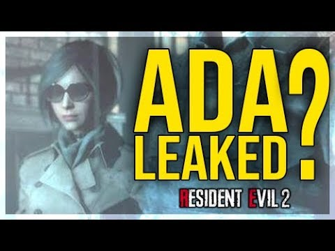Resident Evil 2 Remake – ADA WONG Leaked? – New Appearance?