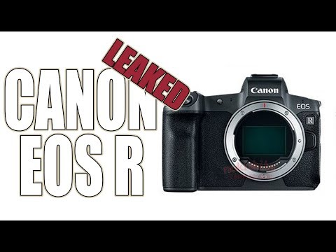 Canon EOS R Mirrorless Camera Leaked