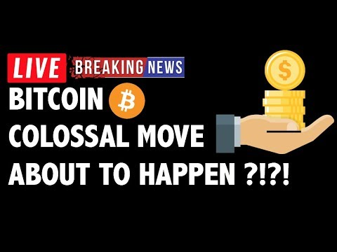 Colossal Move In Sight for Bitcoin (BTC)?! – Crypto Market Technical Analysis & Cryptocurrency News