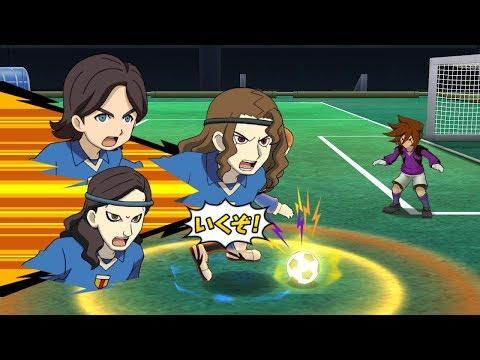 Inazuma Eleven Go Strikers 2013 Orpheus Vs Neo Japan Wii 1080p (Dolphin/Gameplay)