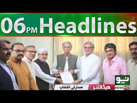 News Headlines   06:00 PM   03 September 2018   Neo News