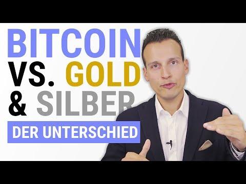 BITCOIN gegen GOLD und SILBER …