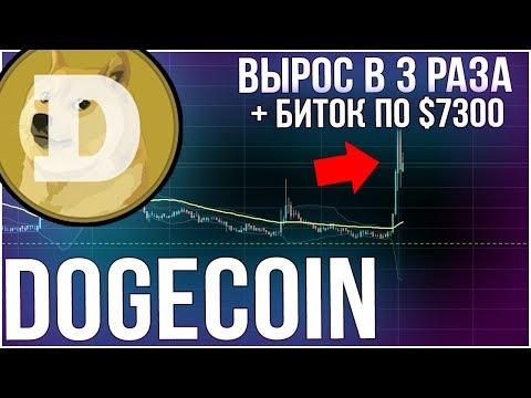 Биткоин вновь по $7000 / Dogecoin вырос в 3 раза / Обзор NEO – ETH