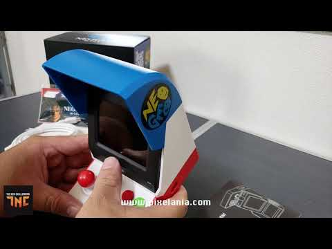 Unboxing del Neo Geo Mini por Gifurama