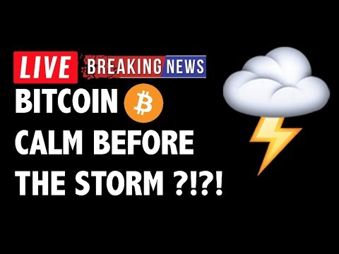The Calm Before The Bitcoin (BTC) Storm?! – Crypto Market Technical Analysis & Cryptocurrency News