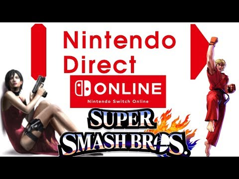 Rumor: Nintendo Direct September Online With Smash Ultimate | ADa Wong RE2 | Red Dead Boring & More