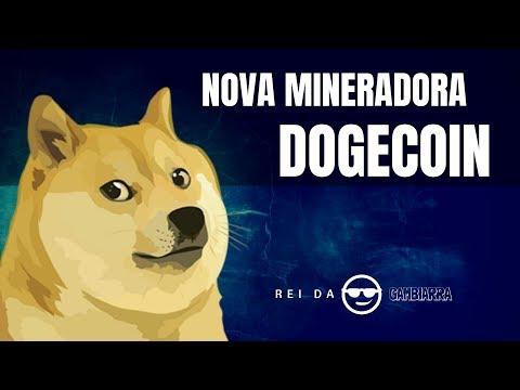 NOVA MINERADORA DE DOGECOIN – 5 DOGE POR DIA NO FREE