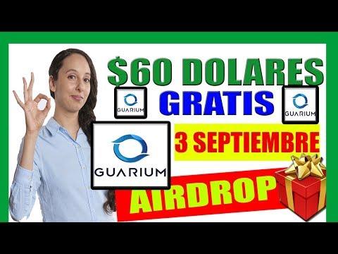 Gana 60 DOLARES GRATIS con el Airdrop ➨ GUARIUM