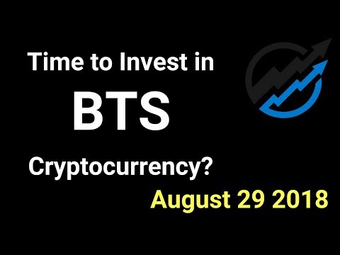 Bitshares Trading – Time to invest in BTS Cryptocurrency? AUG 29/18