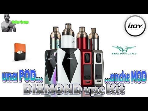 sia Pod che Mod – iJoy Diamond VPC Kit – UnikoSvapo Recensione 2018