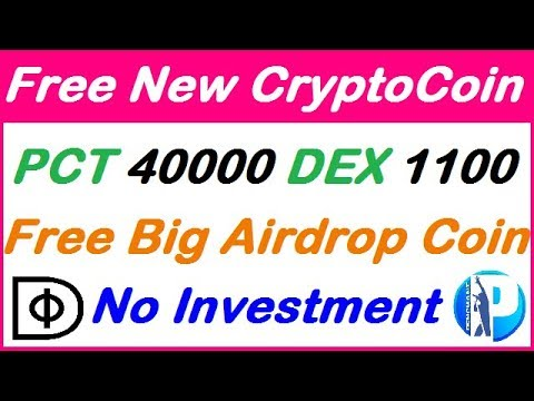 Free Airdrop Coin DEX 1100 PCT 40000 Token, Free Token Free ico coin New airdrop, earn with gr fast