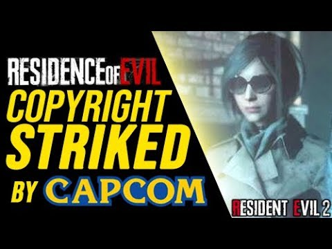 Resident Evil 2 Remake – Ada Wong – Capcom Copyright Strikes Down RESIDENCE OF EVIL