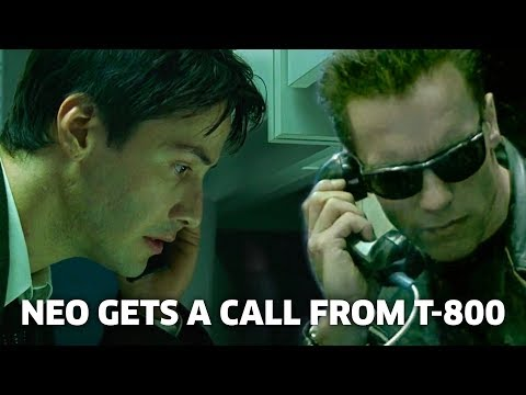 Neo Gets a Call from the T-800