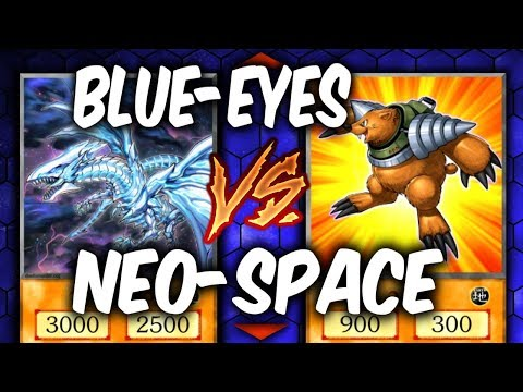 Yugioh NEO-SPACIAN vs DANGER BLUE-EYES (Yu-gi-oh Deck Duel!)