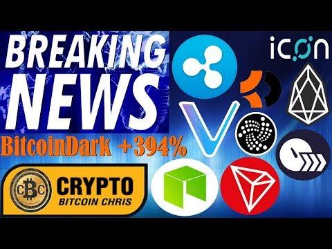 Vechain's Epic Partnership!?$2.7Tril Bank & Ripple!?SEC Secret Weapon!?BTCD +374%