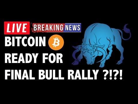 Bitcoin (BTC) Ready for Final Bull Rally?! – Crypto Market Technical Analysis & Cryptocurrency News
