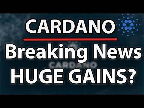 Cardano (ADA) Breaking News! Complexities, Infrastructure & Huge Gains?!