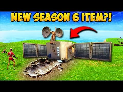 *NEW* SEASON 6 SATELLITE FOUND! – Fortnite Funny Fails and WTF Moments! #311