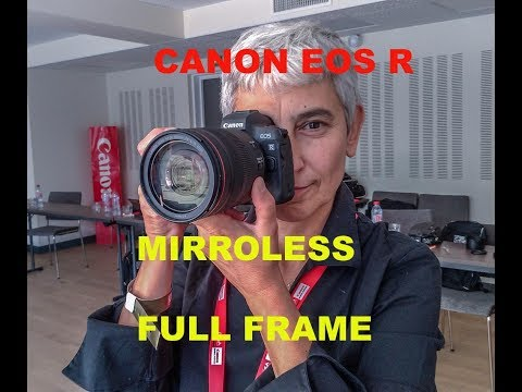 Canon EOS R, il nuovo sistema mirrorless full frame. Hands on