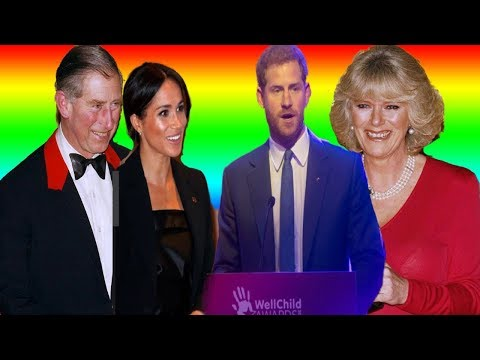 Amid rumors that Prince Charles and Camilla are allegedly on the verge of a divorce,HARRY AND MEGHAN