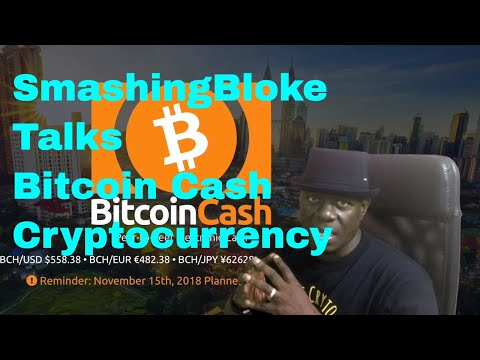 SmashingBloke Talks Bitcoin Cash Cryptocurrency