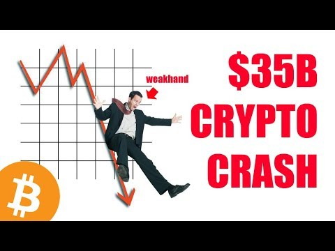 Bitcoin and Crypto Market Crashes $35 Billion!  – Daily Bitcoin and Cryptocurrency News
