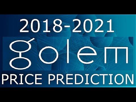 GOLEM PRICE PREDICTION 2018-2021