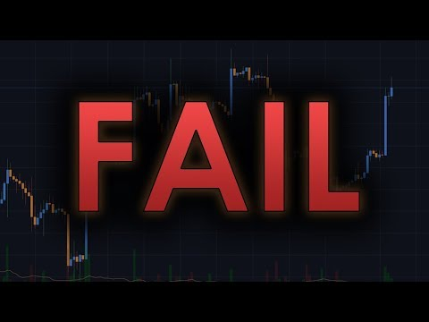 HAS BITCOIN FAILED IT'S FINAL CHANCE?  – Cryptocurrency/BTC Trading Analysis