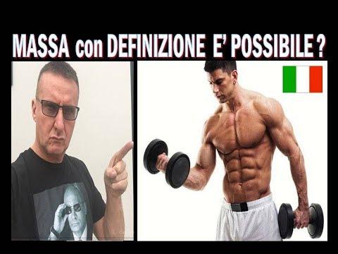 Dieta Training – da natural  é possibile avere sia massa che  definizione ?
