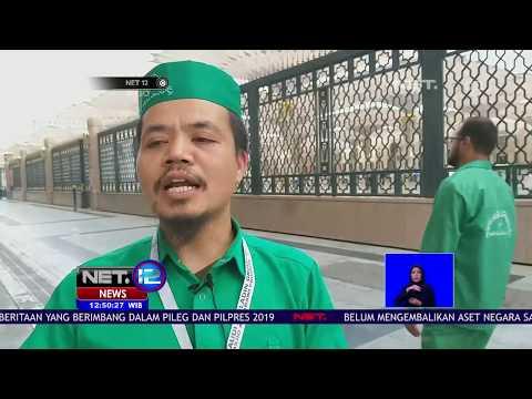 Ternyata Ada Pekerja Indonesia Bekerja Dibalik Ketersediaan Air Zam zam di Masjid Nabawi #NETHaji201