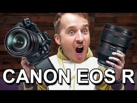 Canon EOS R – ПЕРВЫЙ ОБЗОР прямо с презентации