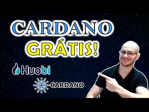 🛑 Exchange Huobi Pro está distribuindo Criptomoedas Cardano (ADA) GRÁTIS! Corre que acaba dia 11/09