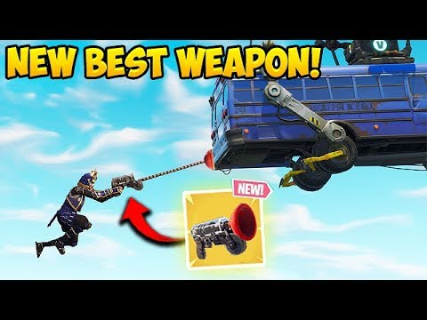 *NEW* GRAPPLER GUN BEST PLAYS! – Fortnite Funny Fails and WTF Moments! #313