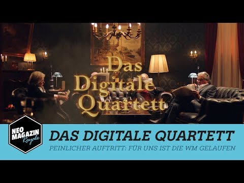 Digitales Quartett | NEO MAGAZIN ROYALE mit Jan Böhmermann – ZDFneo